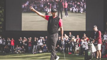 Tiger Woods Wins The ZoZo Championship