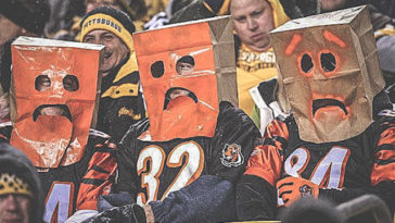 Bengal Fans Paper Bags