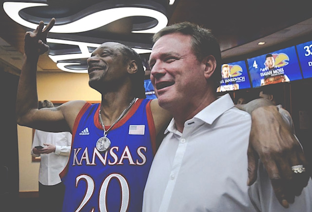 Bill Self And Snoop Dog