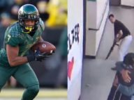 Ex Oregon WR Disarams School Shooter