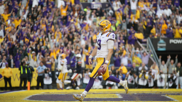 Joe Burrow Defeats Auburn
