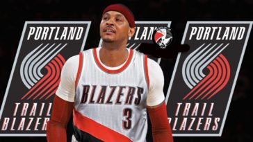 Carmelo Anthony Portland Trail Blazers