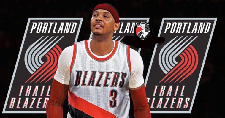 Carmelo Anthony Portland Trail Blazers