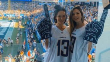 Instagram Model At Chargers Game