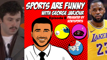 George Jarjour Sports Are Funny Podcast Episode 9