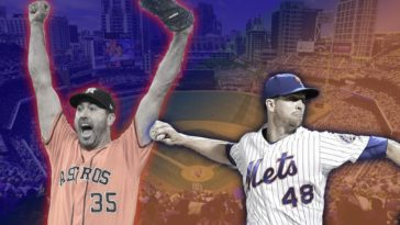 Verlander DeGrom Cy Young Winners