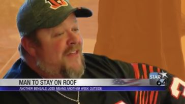 Bengals Man Living On Roof