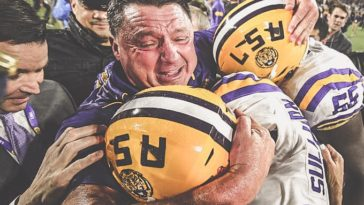 LSU Number 1 Overall Seed