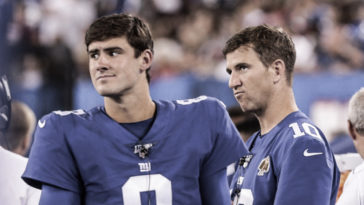 Eli Manning & Daniel Jones