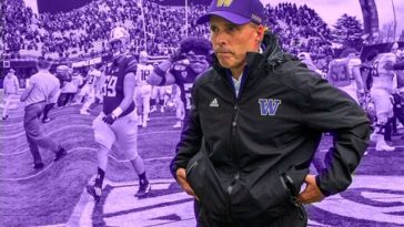 Chris Petersen Steps Down As Huskies Coach