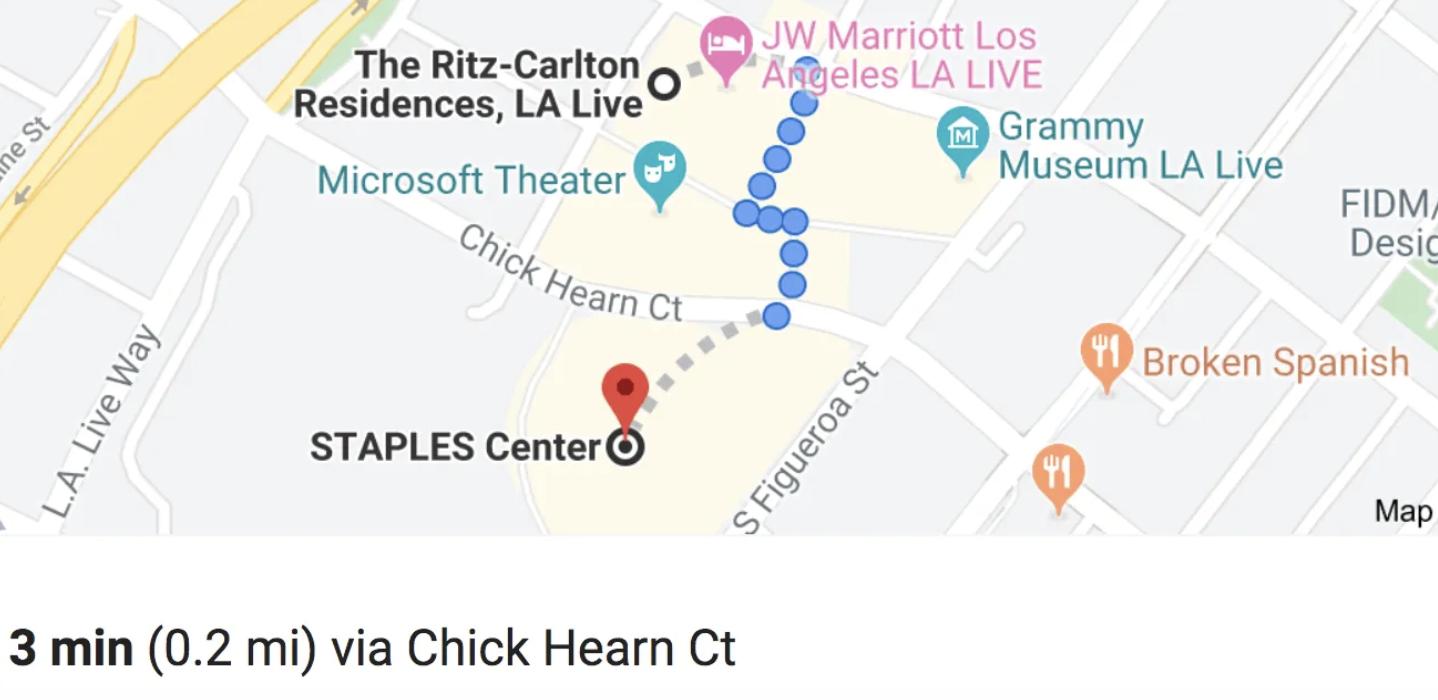 Kawhi Walk To Staples Center
