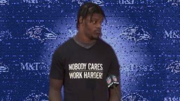 Lamar Jackson Work Harder
