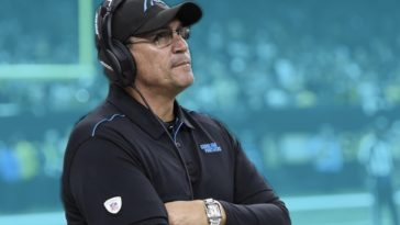 Panthers Fire Ron Rivera