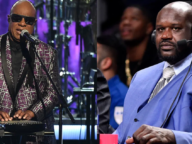 Shaq And Stevie Wonder