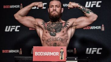 Connor McGregor Weigh In
