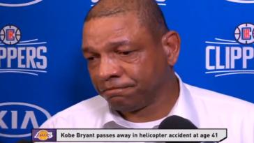 Doc Rivers Emotional On Kobe Bryant