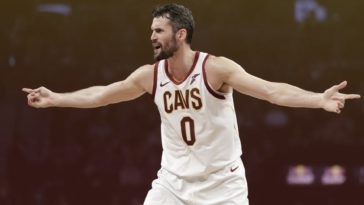 Kevin Love Frustrated