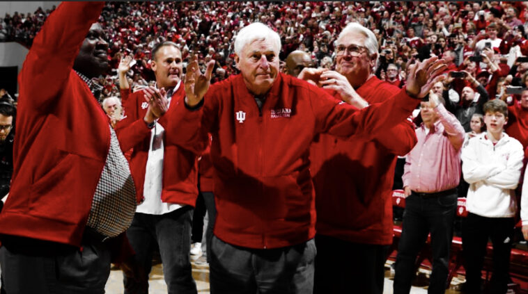 Bobby Knight Returns To Indiana