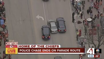 Kansas City Police Chase