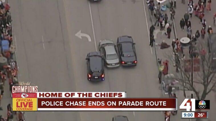 Kansas City Police Chase