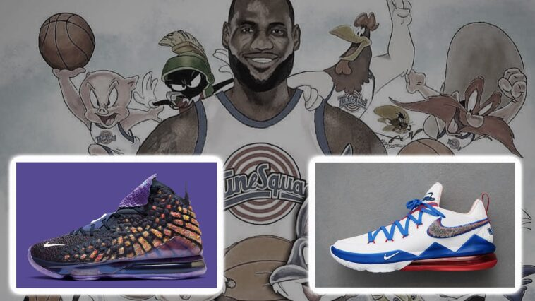 LeBron Space Jam Shoes