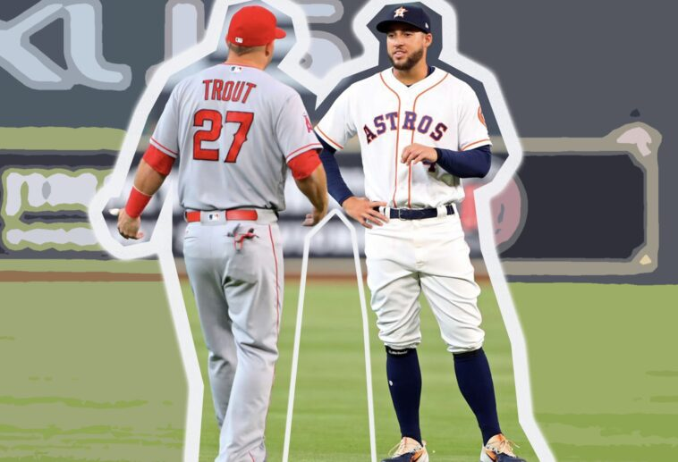 Mike Trout Astros