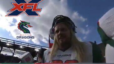 Seattle Dragons XFL F-Bomb