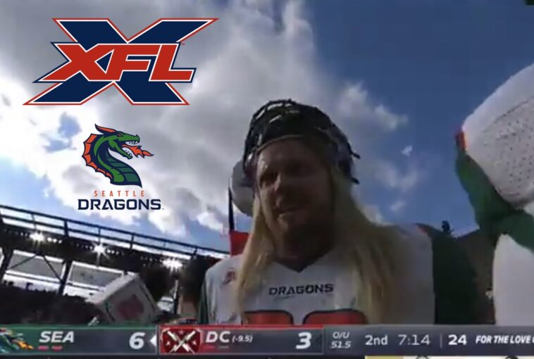 Seattle Dragons XFL F-Bomb