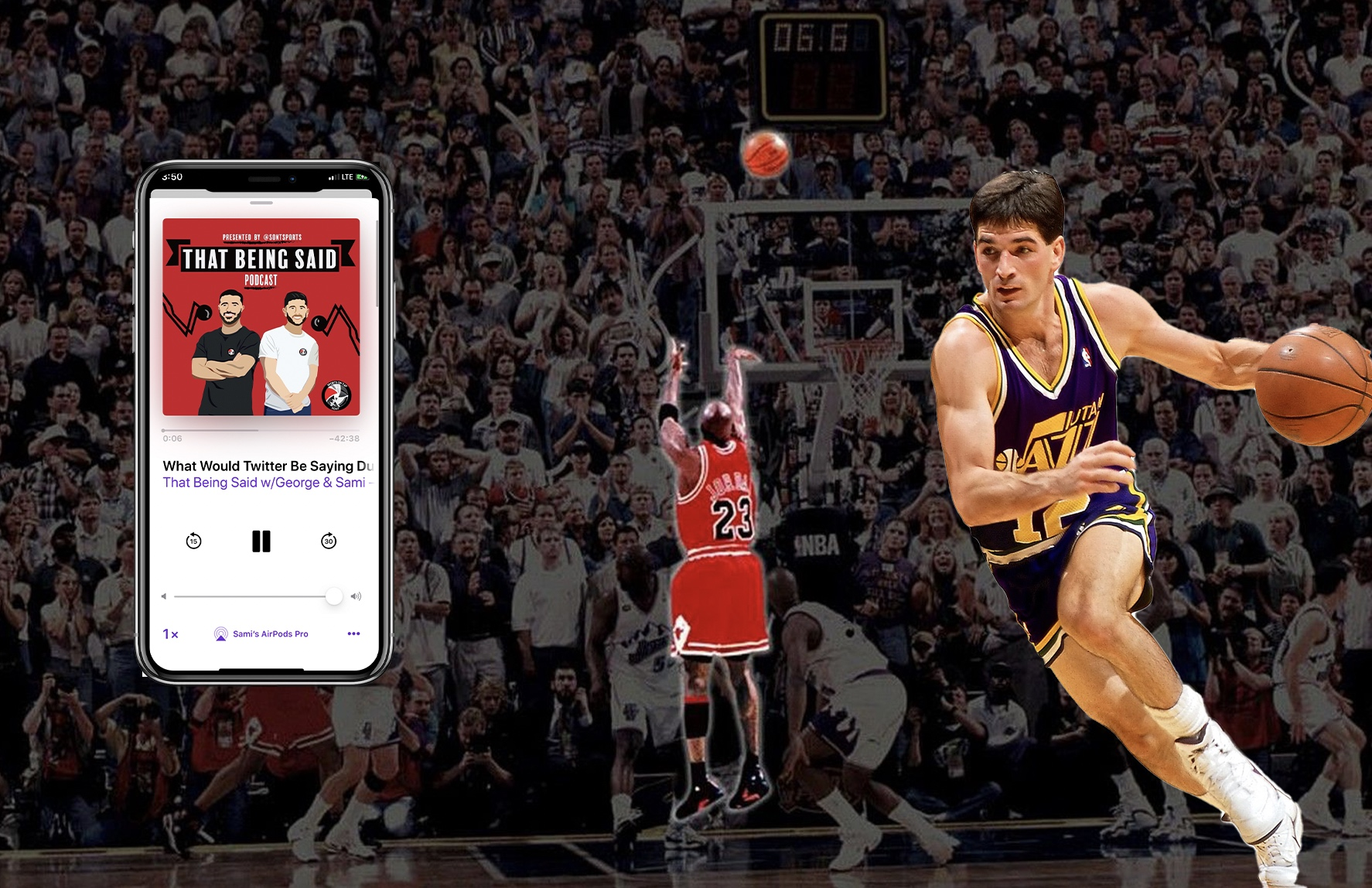 Twitter During The 1998 NBA Finals | the Sports ON Tap
