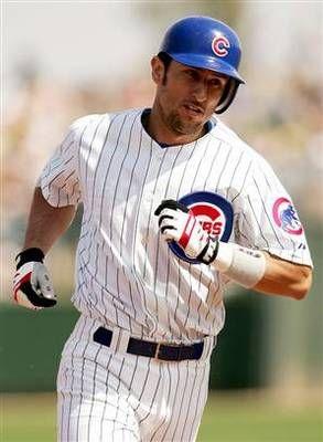 Nomar Garciaparra Chicago Cubs baseball