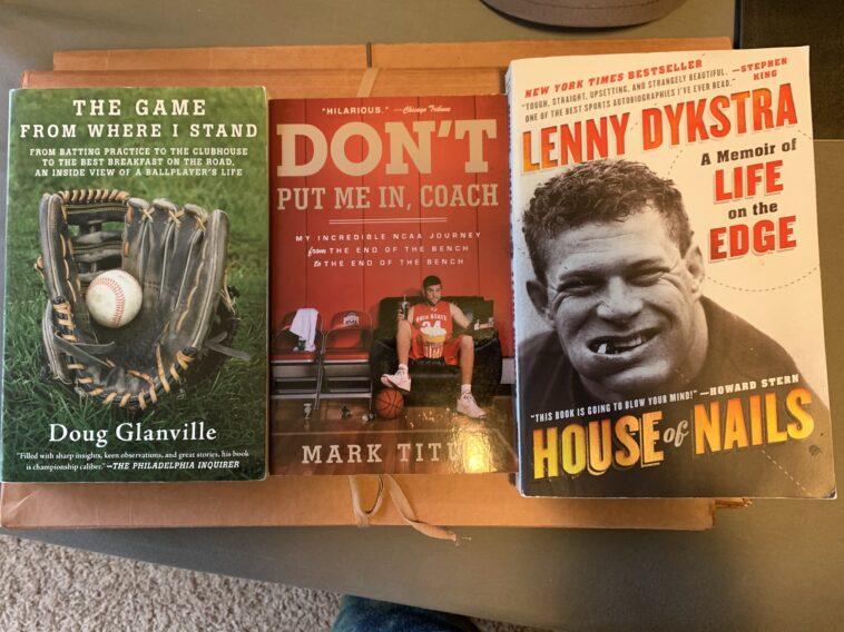 entertaining sports books