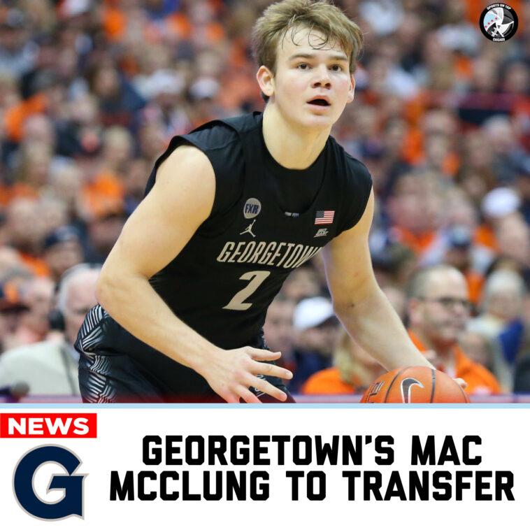 Mac McClung Transfer