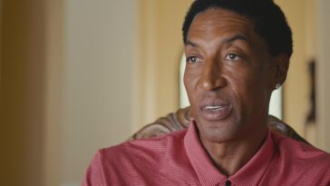 Scottie Pippen Last Dance
