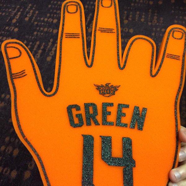 Gerald Green Finger