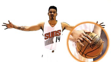 Gerald Green Missing Finger