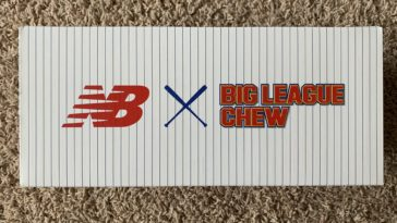 new balance big league chew sandals