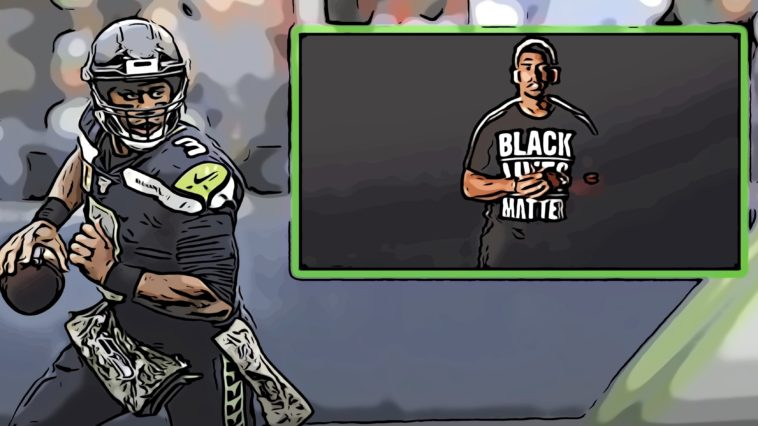 Russell Wilson Black Lives Matters