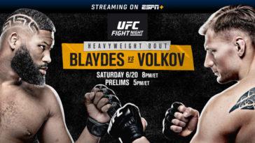 UFC on ESPN: Blaydes vs. Volkov Fight Picks