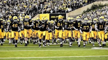 iowa football swarm