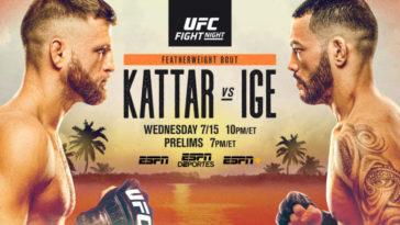 UFC FIGHT NIGHT FIGHT ISLAND