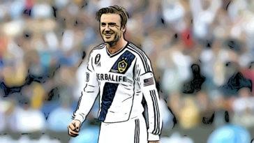 David Beckham Galaxy Debut