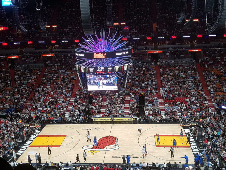 Miami Heat Crowd