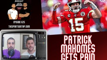 Patrick Mahomes Gets Paid