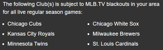 mlb blackout restrictions in iowa