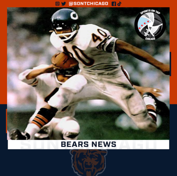 Chicago Bears Gale Sayers