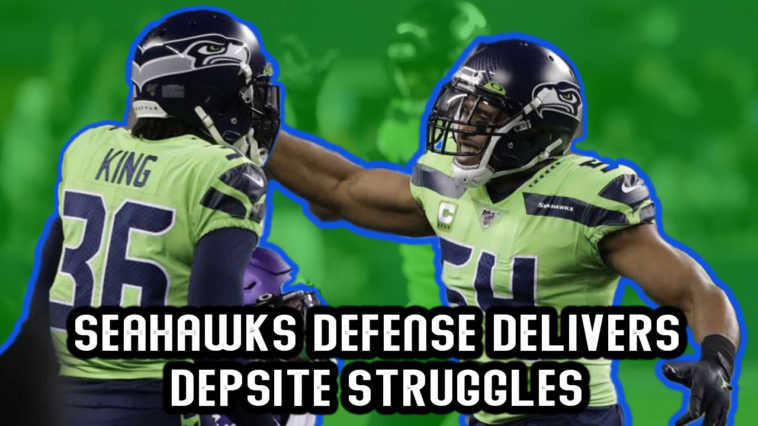 Seahawks Defensive Struggle