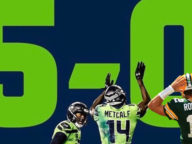 Seahawks Undefeated NFC