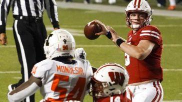 Wisconsin quarterback covid 19