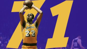 Elgin Baylor 71 Point Game