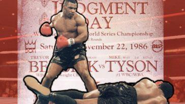 Mike Tyson Trevor Berbick